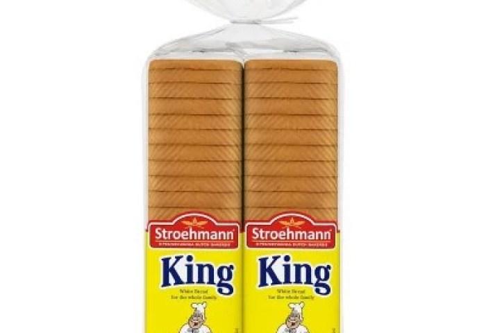 Stroehmann King Enriched White Bread 22 Oz 2 Ct Sams Club