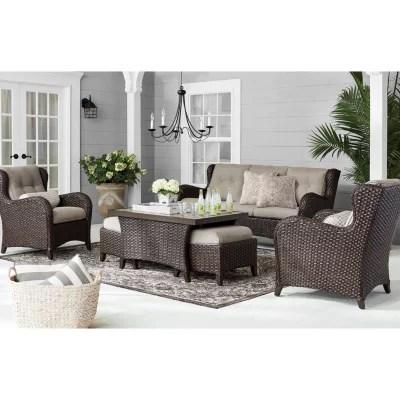 wicker patio furniture sams club the