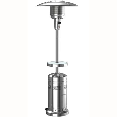 member s mark patio heater with led table