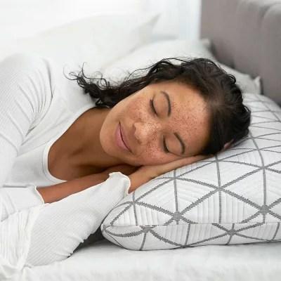serta calm gel memory foam pillow