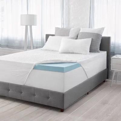 serta calm 3 gel memory foam mattress topper various sizes