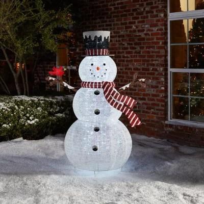 Members Mark 72 Pop Up Snowman With Cardinal Sams Club