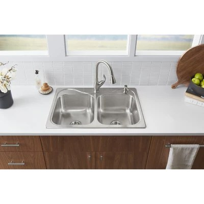 sterling southhaven all in one sink kit