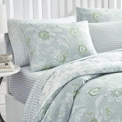 martha stewart watercolor jacobean 3 piece comforter set assorted sizes