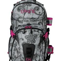 c3fd2c4551a76 Dakine Lace Floral Heli Pro Black   Pink Snow Backpack Zumiez