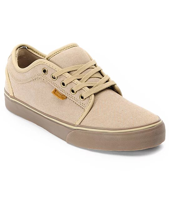 Tan Van Shoes