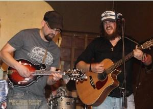 Brad Haefner, Jason Lovell — Buffalo Ruckus duo. Photo by Mary Jane Farmer