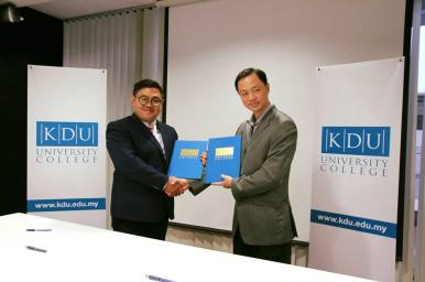 Partnership with KDU University College