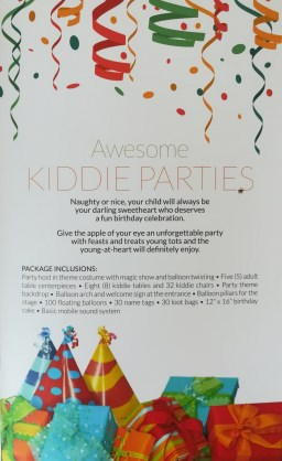 Awesome Kiddie Parties