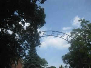 1 Riverdale Farm sign