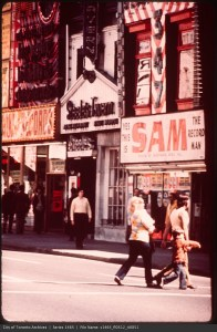 Sam The Record Man, Steeles Tavern, A&A