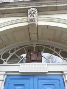 1. St Lawrence Hall Door Toronto Coat of Arms