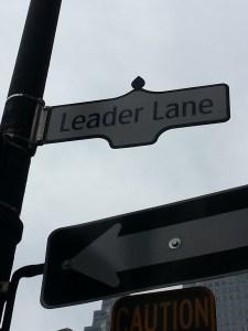 7. Leader Lane and Wellington