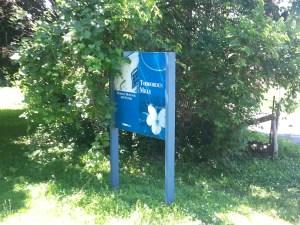 3. Todmorden Mills City Museum Sign