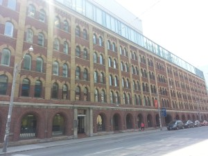 1. Old Christie Factory George Brown