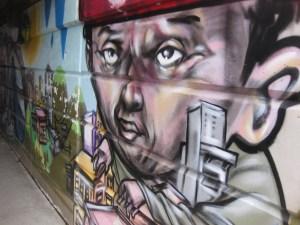 39. Bathurst Street underpass mural
