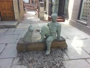 39. Hazelton Lanes street art