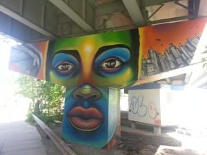 27. King Street East underpass art