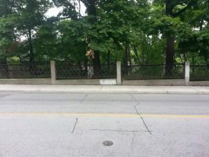 Avoca Avenue bridge railings
