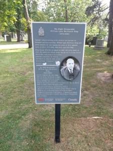 Mount Pleasant Cemetery William Lyon Mackenzie King
