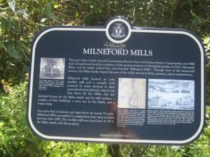 Heritage Toronto Milne Hollow Plaque 1