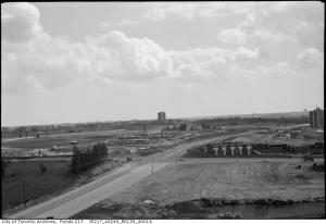 Don Mills and Sheppard Looking South 1964