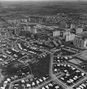 Peanut Aerial Looking Northeast Late 1960s