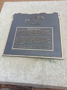 Northern Dancer plaque