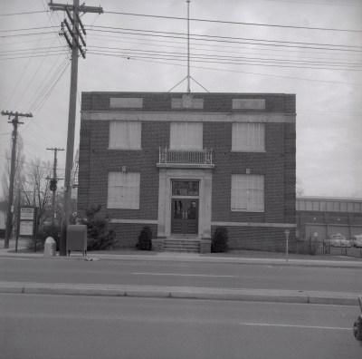 North York Municipal offices 1957