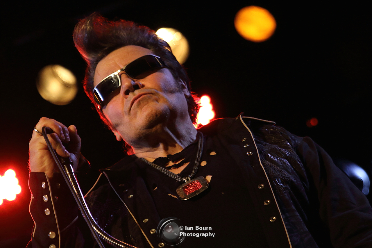 The Rezillos: Eugene - photo by Ian Bourn for Scene Sussex