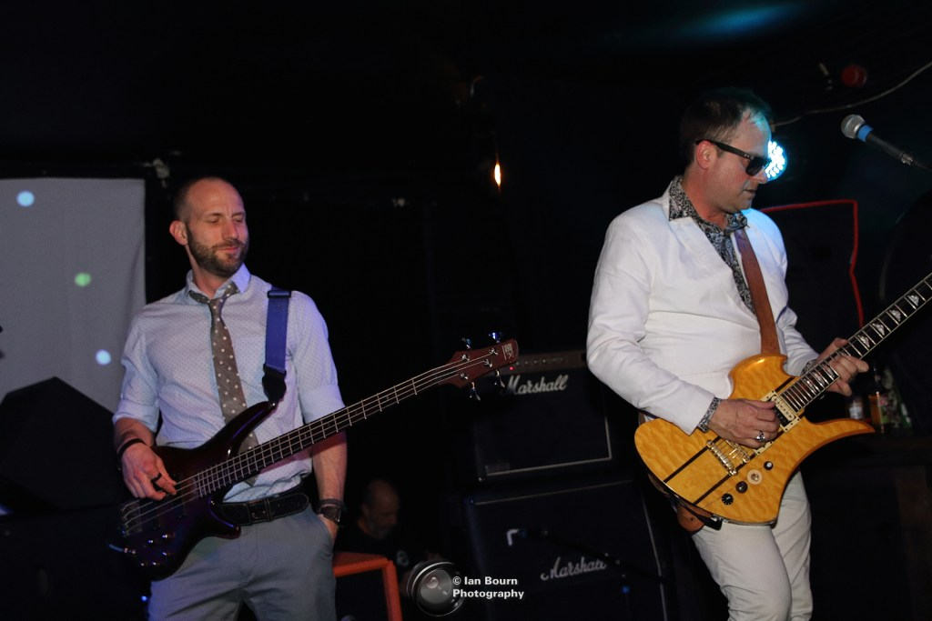 Electric Six live in Lewes: Pic by Ian Bourn for Scene Sussex.