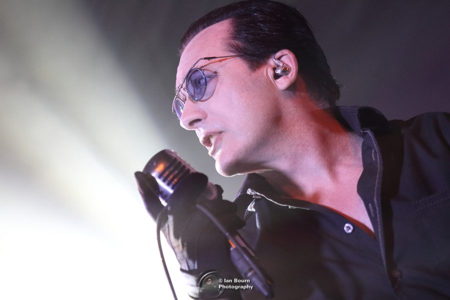 Dave Vanian from The Damned live at Concorde 2 - photo by IAN BOURN for Scene Sussex