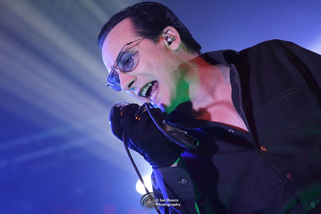 Dave Vanian from The Damned live at the Concorde 2 - phot by IAN BOURN for Scene Sussex