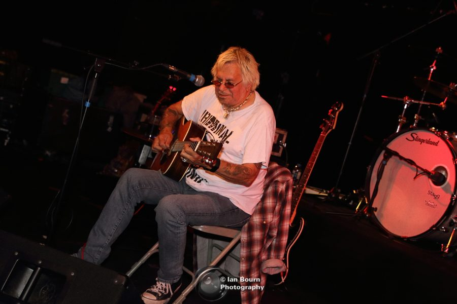 UK SUBS: Charlie Harper - pic by Ian Bourn for Scene Sussex