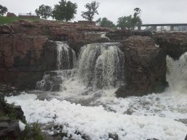 Thunderous Waterfalls on the Big Sioux River