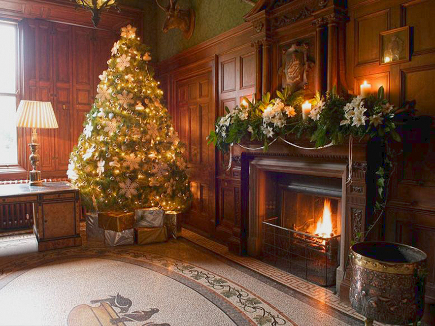 Christmas Decorations Inspiration English Country House
