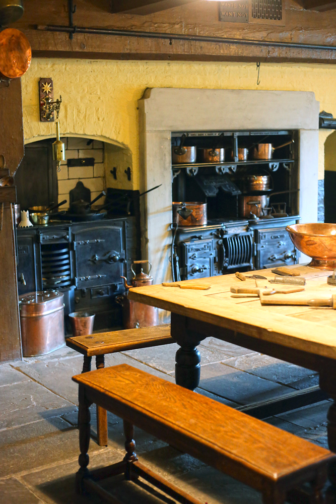 Tudor House Bramall Hall Downstairs Kitchen