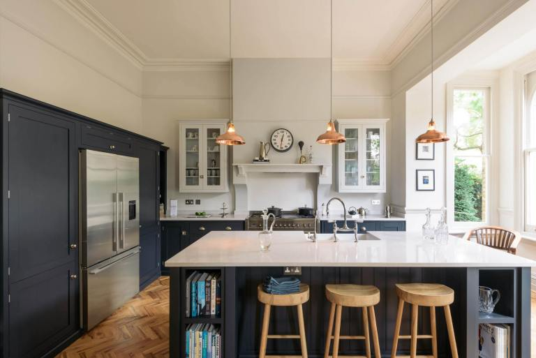 Navy And White Kitchen Shop The Look Scene Therapy