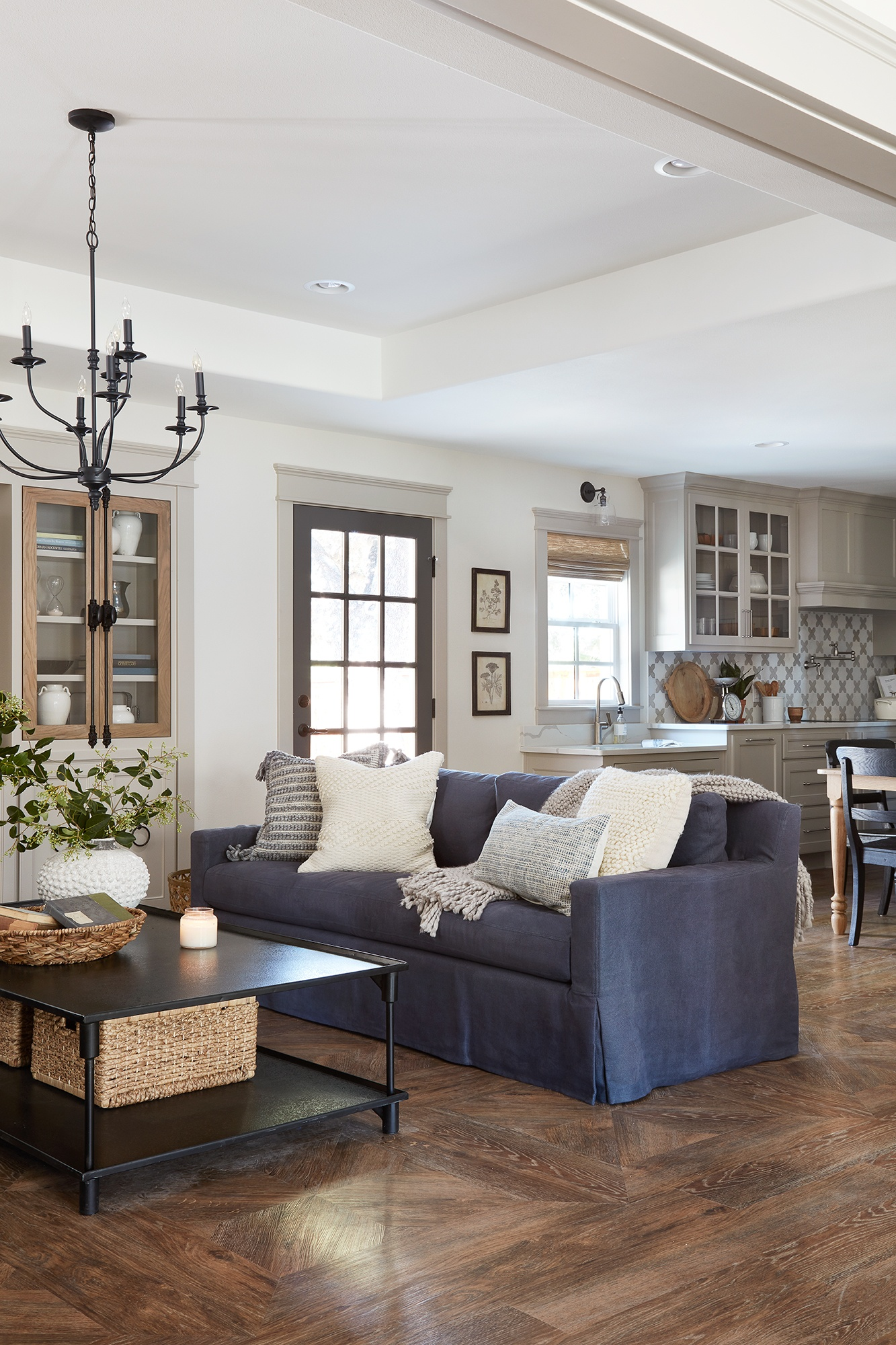 The Copp House from Fixer Upper Living Room - Scene Therapy