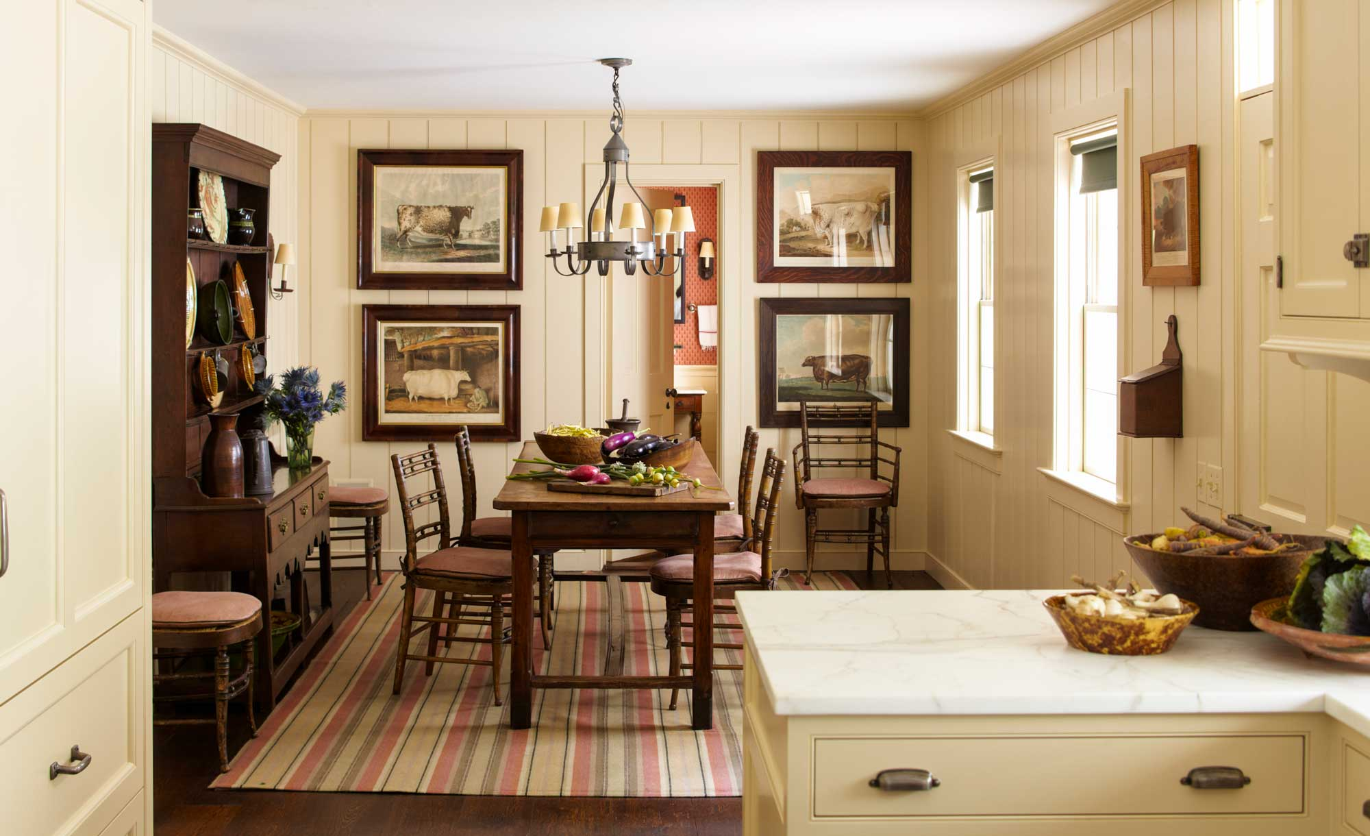 Rustic Country Dining Room Decor, Country Dining Room