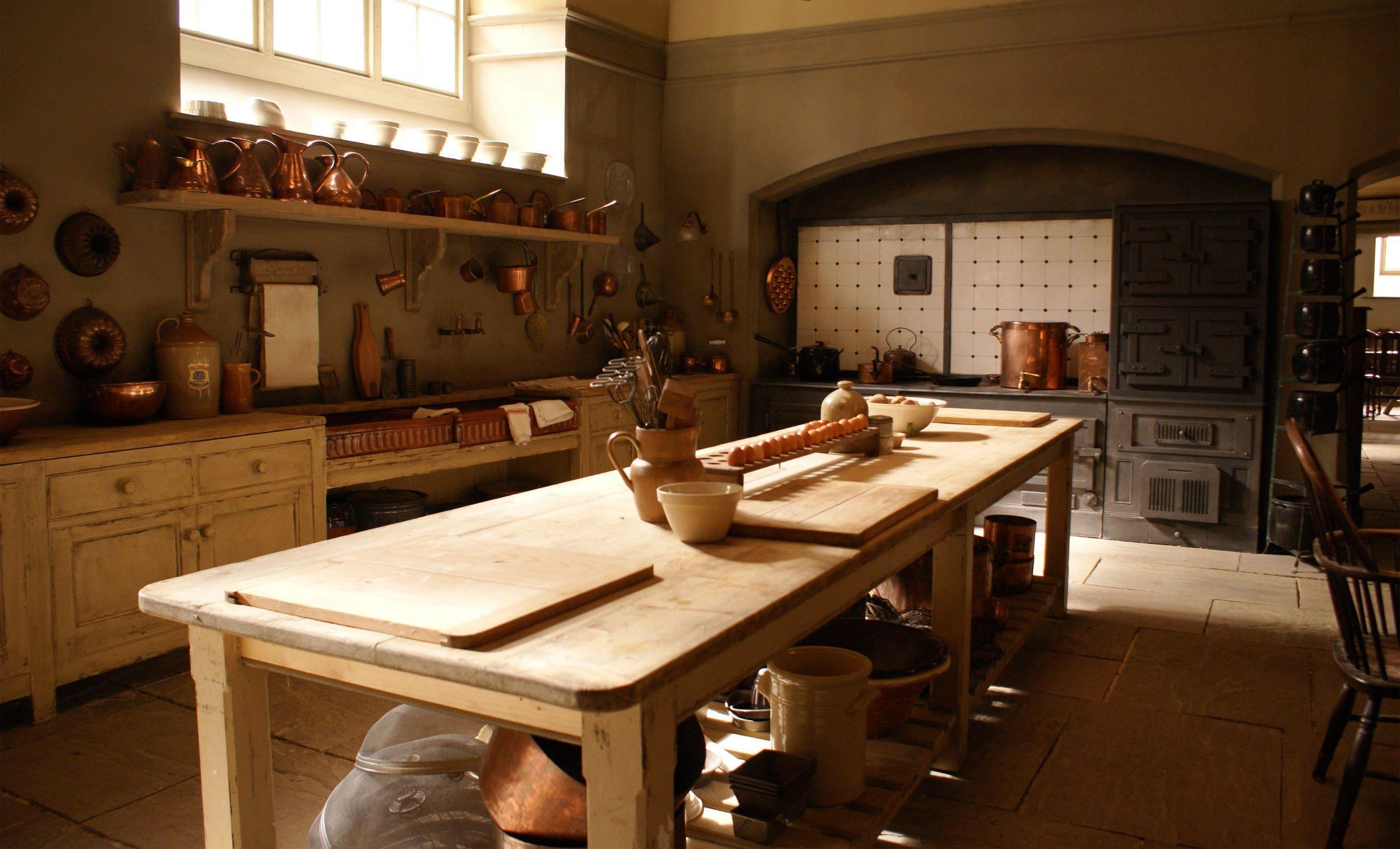 Inside Downton Abbey Kitchen Set Scene Therapy