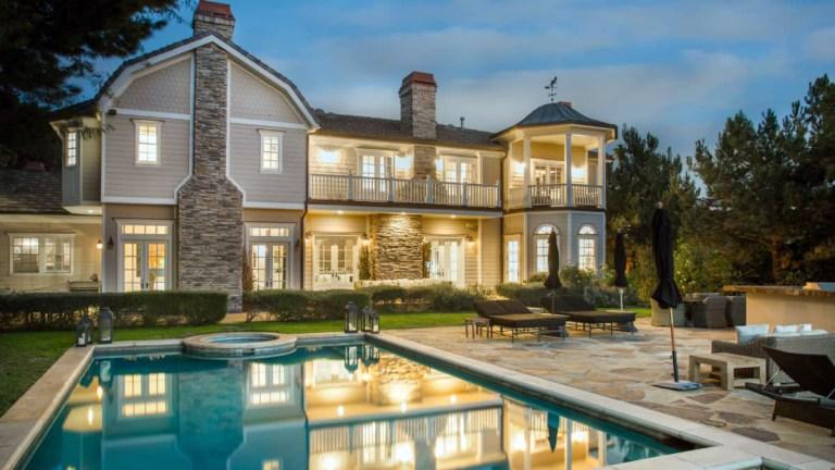 Cash Warren house in Oak Pass estate of Beverly Hills