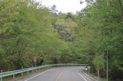 茶臼山高原道路