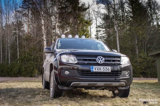 VW Amarok Canyon etupää