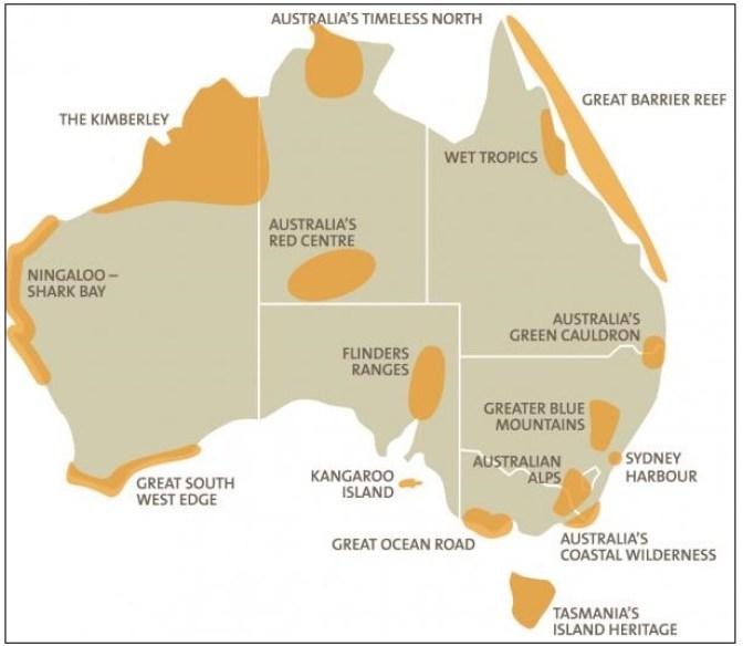 Australian National Landscapes