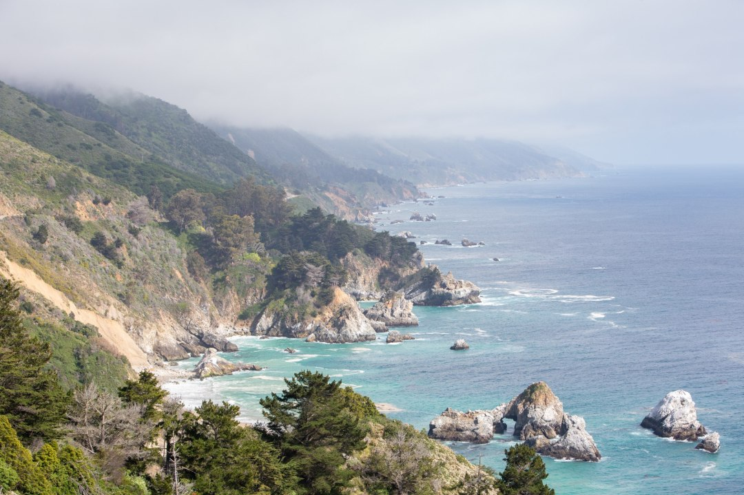 These dramatic views along the Big Sur coastline are what dreams are made of!