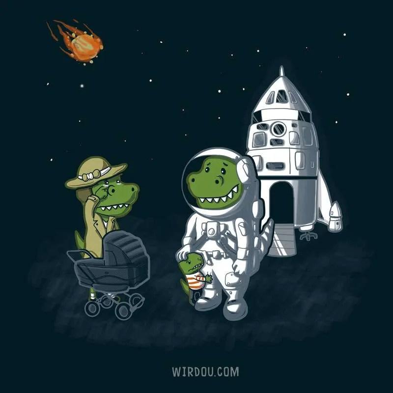 dinosaurios, armageddon, ciencia, gracioso, divertido, meteorito, cohete, bomba