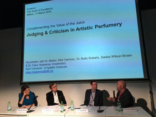 Roundtable: Judging & Criticism in Artistic Perfumery