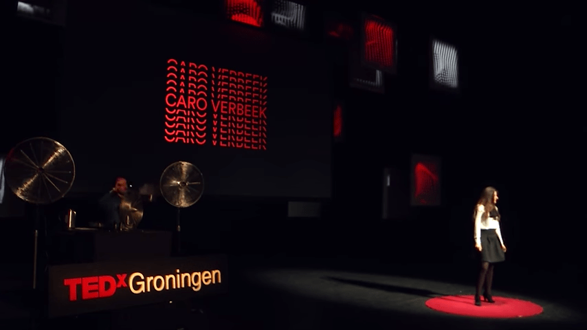 """""""Inhaling history & smelling the future"""" by Caro Verbeek at TEDxGroningen"""