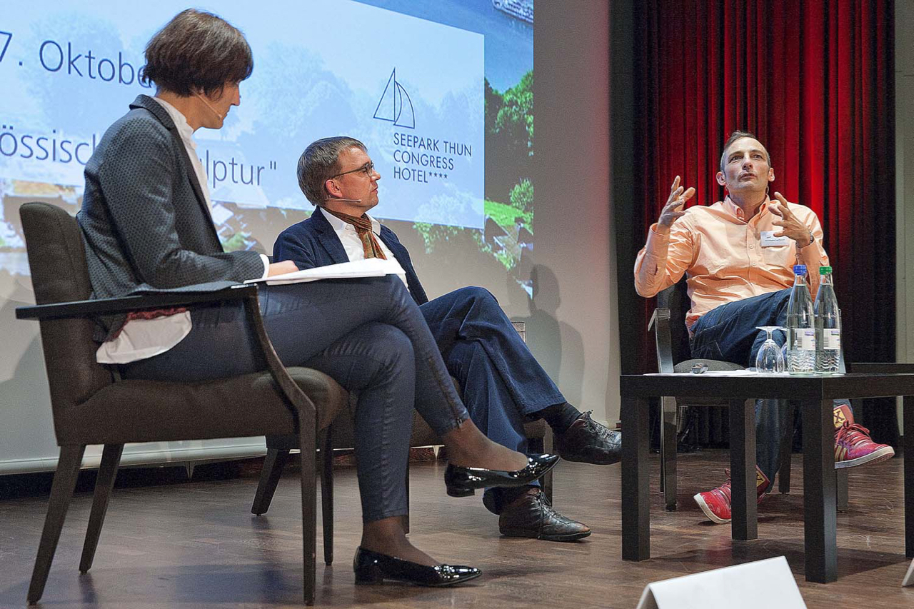 Panel with Christophe Laudemiel at UBS Arts Forum chaired by Dr. Karolina Jeftic